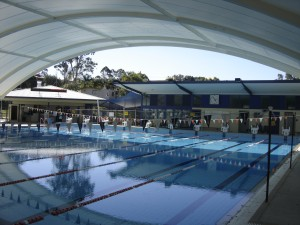 Shade at the Nerang Pool